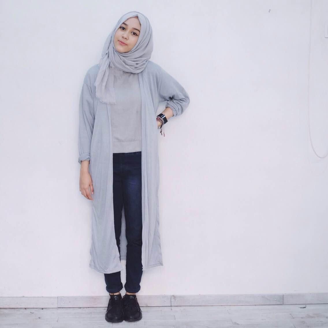 Hipwee On Twitter 7 Gaya Hijab Buat Kamu Yang Suka Pakai Jeans Dan Kemeja Biar Gayamu Nggak