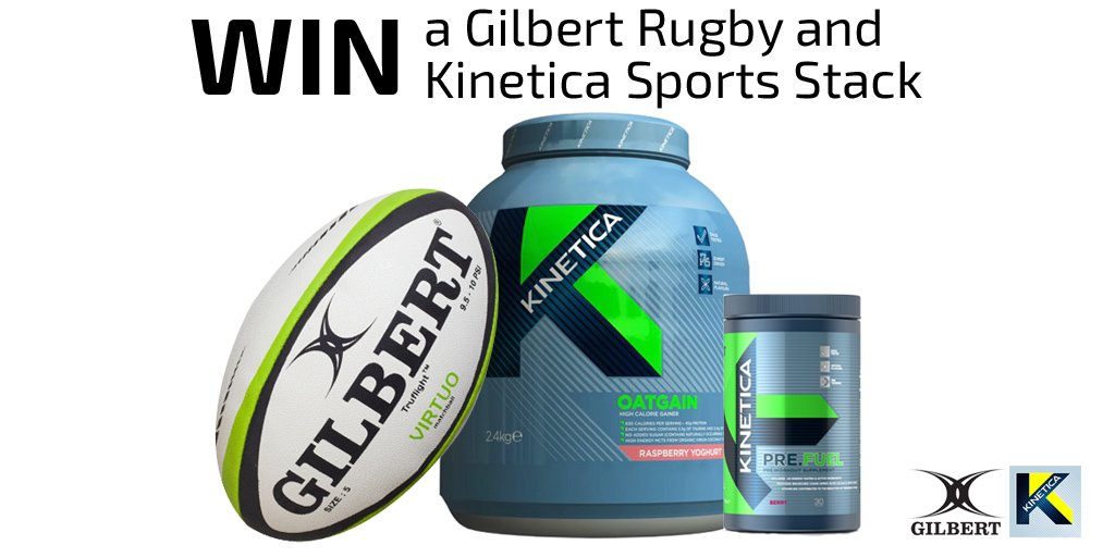 Win a @GILBERT_RUGBY and @KineticaSports Stack! RT and Follow for the chance to win. https://t.co/GeDAuhTPq9