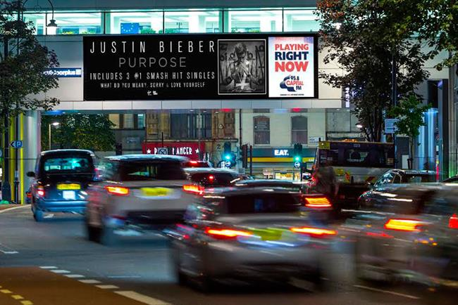 Justin Bieber will feature in a digital outdoor campaign by Universal Media and Capital FM https://t.co/3gyPnBSvOx https://t.co/BIm584Ent7
