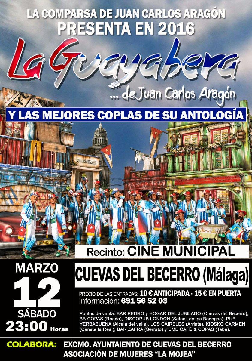 ÚLTIMO DÍA PARA COMPRAR TU ENTRADA A 10€  !!!!!  INFO al 691 565 203 📞  #LaGuayabera #Antología #JuanCarlosAragon