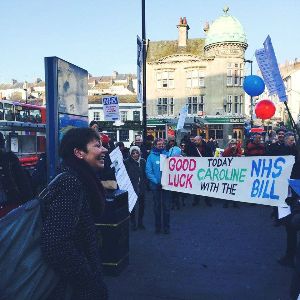 @CarolineLucas heads to London for the #NHSBill in a week of strikes, cuts & a local die-in https://t.co/xpGZxHuYKl https://t.co/m1rQJJDtxx