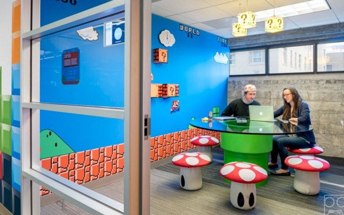 The Man Child Office Decor Championed By Tech Bros Https://t.