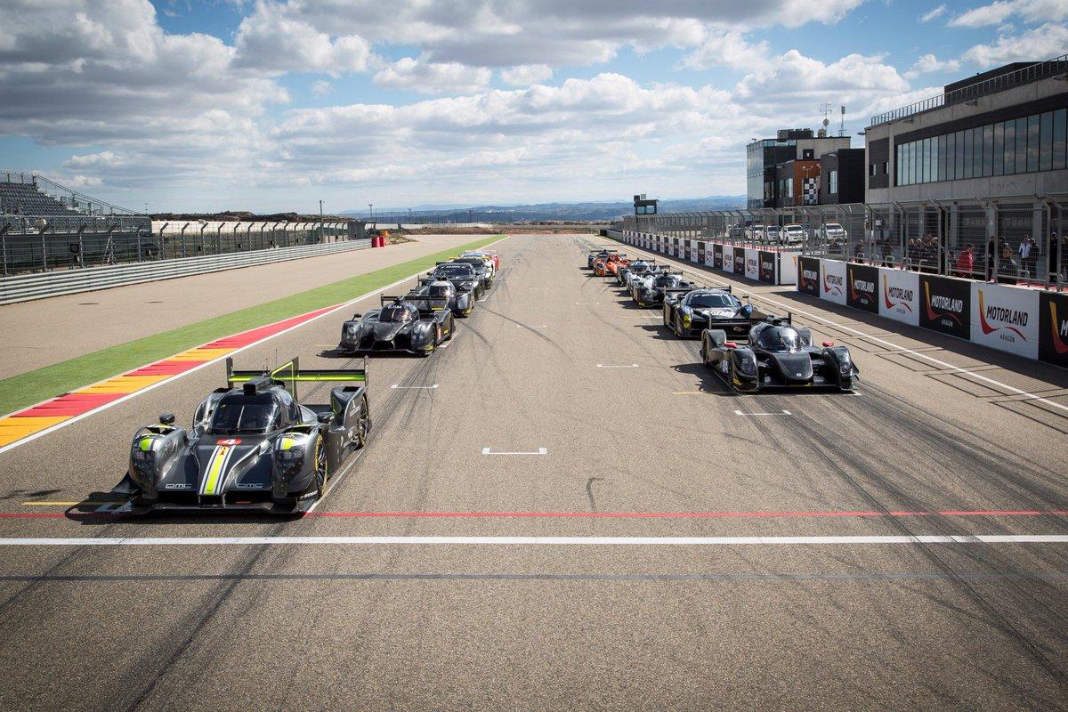 Circuito Motorland : Merhi prueba un lmp2 en el test de dunlop en motorland motor.es