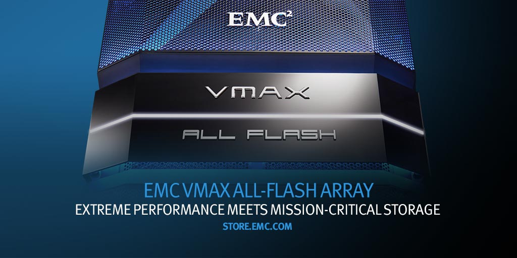 Dell EMC On Twitter Curious About The New EMC VMAX Allflash Adorable Emc Quote
