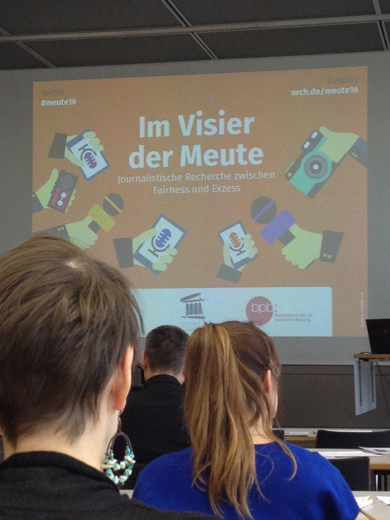 Thumbnail for Im Visier - Journalistische Recherche zwischen Fairness und Exzess