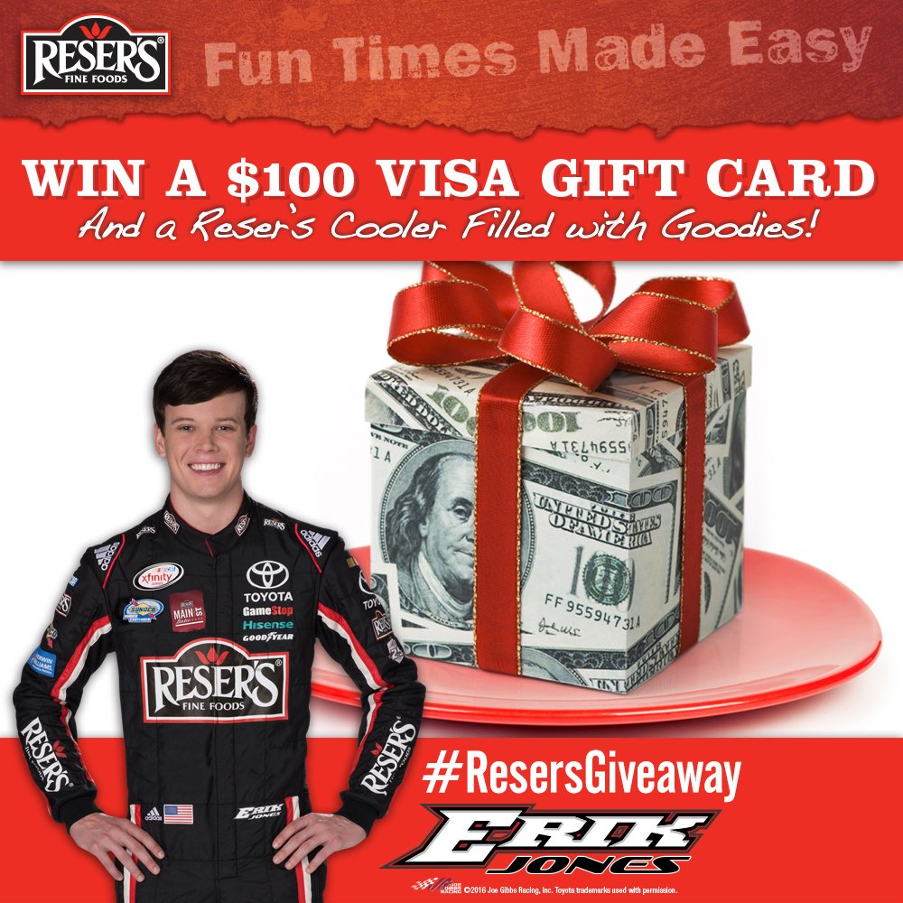 .@erik_jones is back in the No. 20 @Resers #Camry this weekend. RT for your chance to win the #ResersGiveaway! https://t.co/0obN2fNoVm