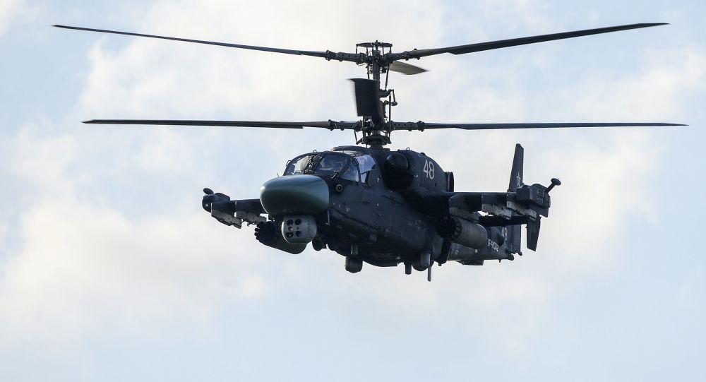 تطوير أسلحة تسديد على الأهداف لمروحية كا-52 الروسية الخاصة بالميسترال المصرية CdRejziUYAAADYj
