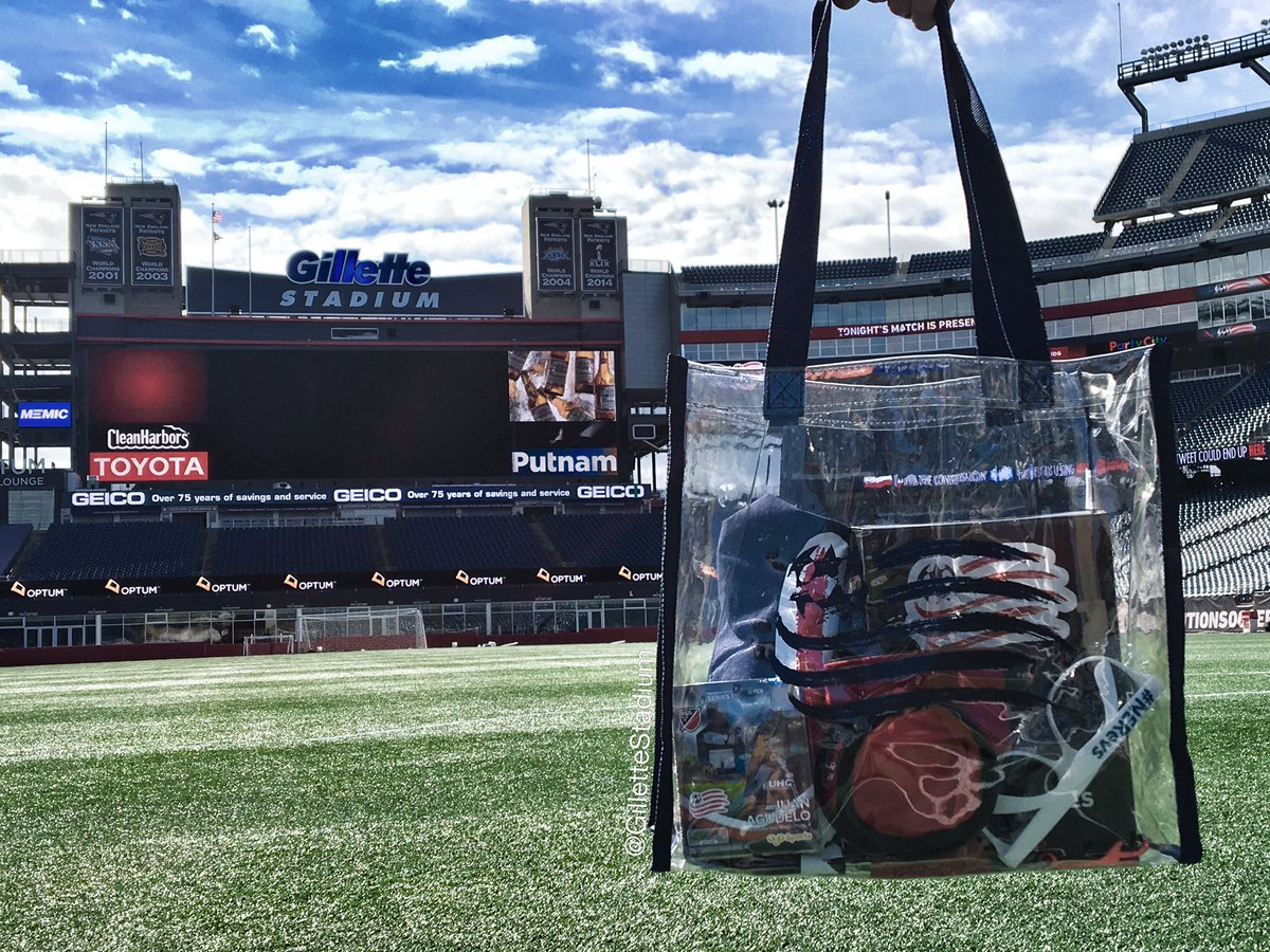 #NERevs home opener: 1 day away. RT/follow to enter to win a Revs swag bag!  New bag policy: https://t.co/kqseDooUhe