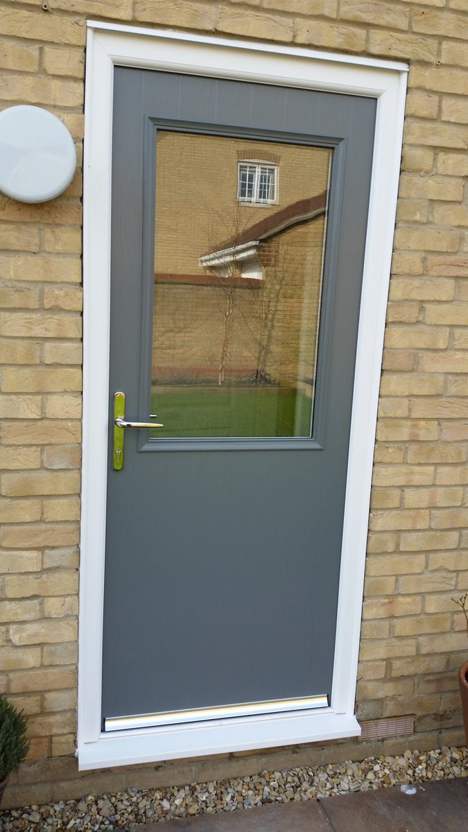 Phil Rose on Twitter \ 3 matching veka fs composite doors in granite grey. //t.co/egyYmIcoXx\  & Phil Rose on Twitter: \