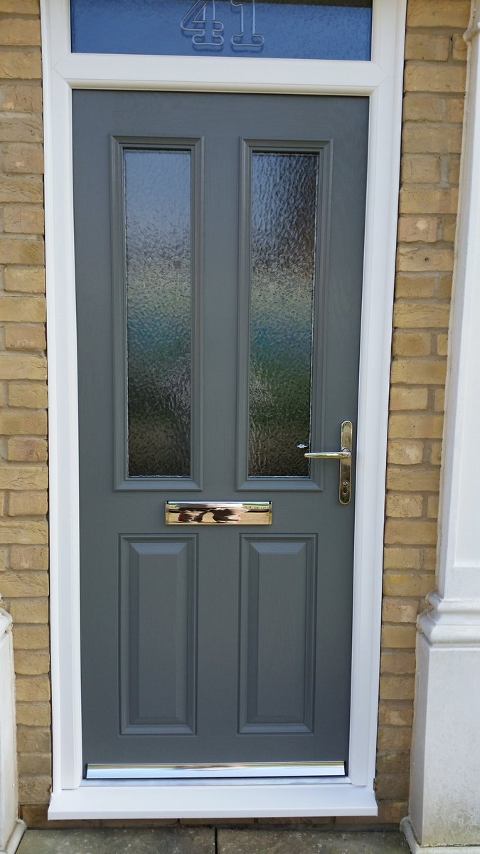 Phil Rose on Twitter  3 matching veka fs composite doors in granite grey. //t.co/egyYmIcoXx  & Phil Rose on Twitter: