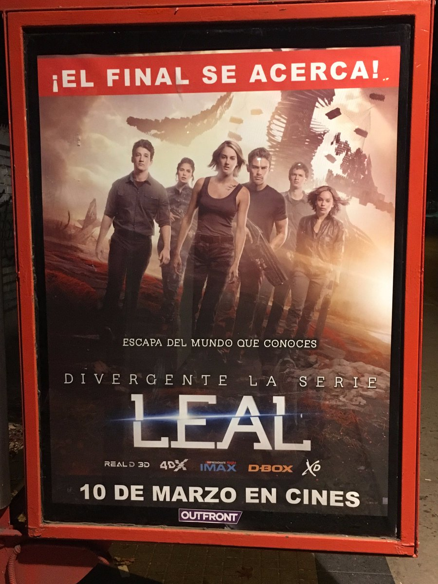 Look what a friend spotted in Chile! Can't wait to see the premiere on Monday @AnselElgort @Divergent #Allegiant https://t.co/3U1EjctoFS