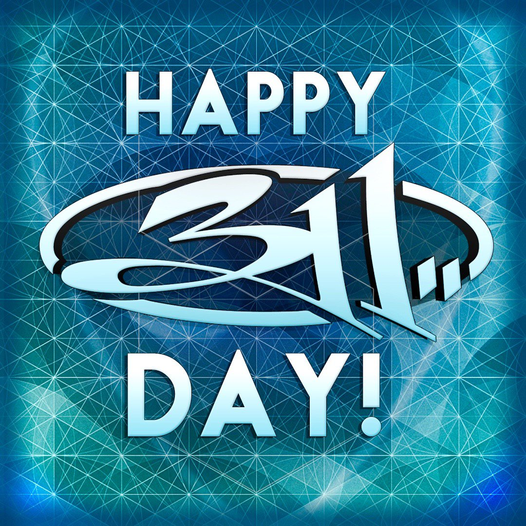 A day of gratitude! A day of CELEBRATION! HAPPY 311 DAY to our amazing fans! Enjoy wherever you may be, turn it up! https://t.co/mz0UA0KwCF