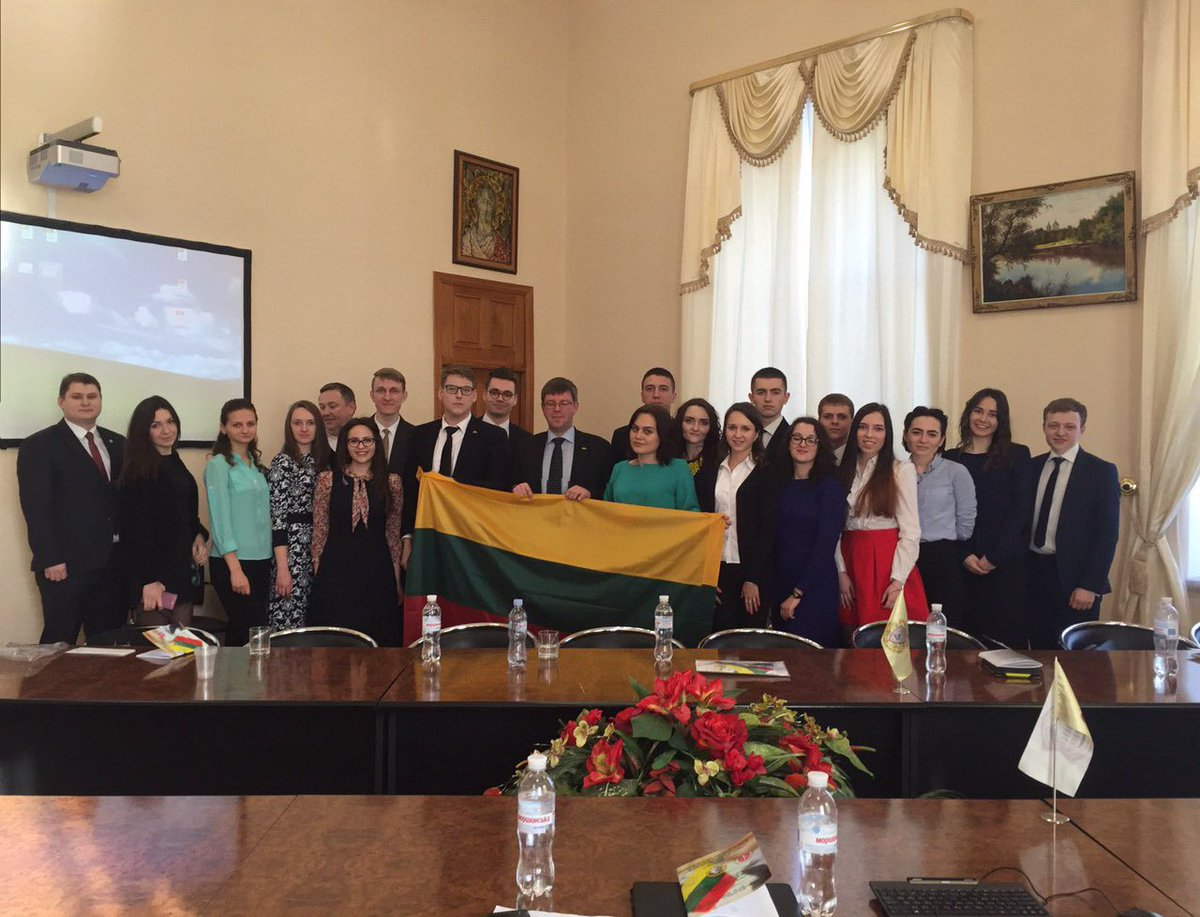 Marius Janukonis On Twitter Excellent LTUA Law Students At Joint Conference In Kharkiv Perfect Gift For LT Independence Birthday