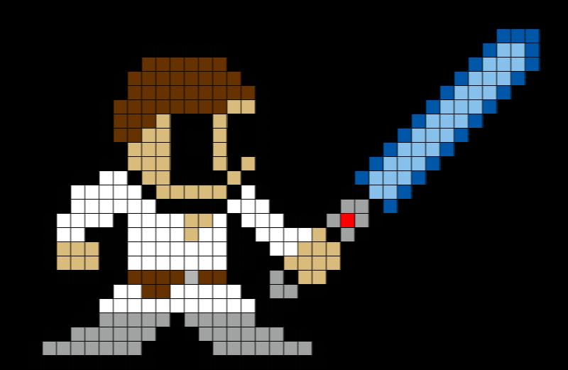 Brik Pixel Art On Twitter New Pixelart Template Now Available LukeSkywalker Starwars Skywalker Theforce 8bit Tco Q0A6MOLYsH