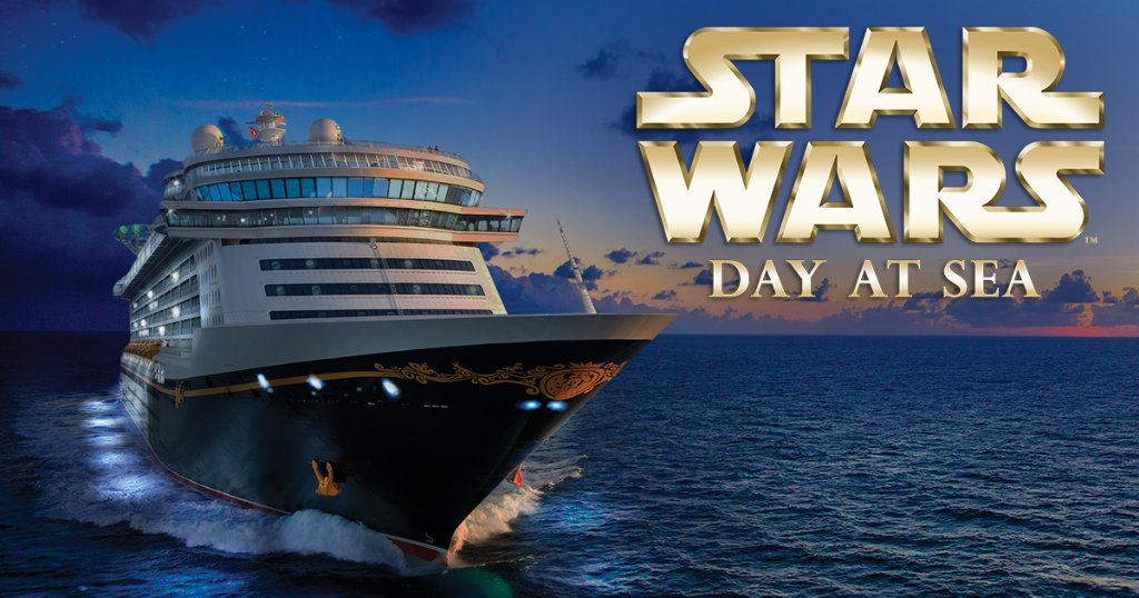 #StarWarsDayAtSea to return in 2017 on select #DisneyCruise Caribbean sailings! DETAILS: https://t.co/f1QebPQXJ4 https://t.co/ehKRnin6D7