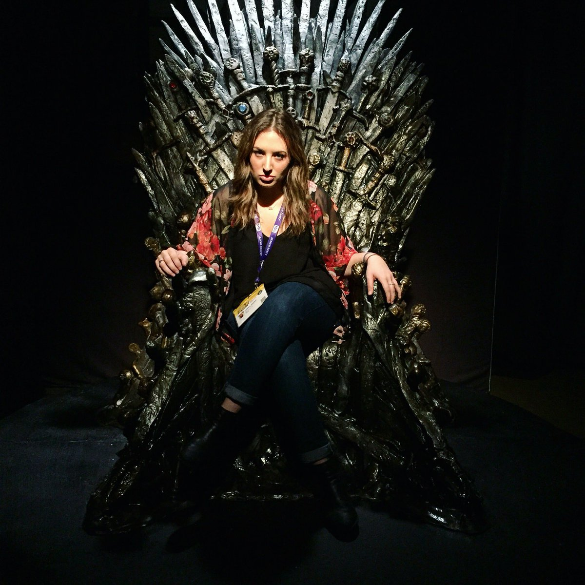 """""""The Iron Throne is mine by rights. All those who deny that are my foes."""" #SXSW #SXSWesteros https://t.co/Dxsn7PXCan"""