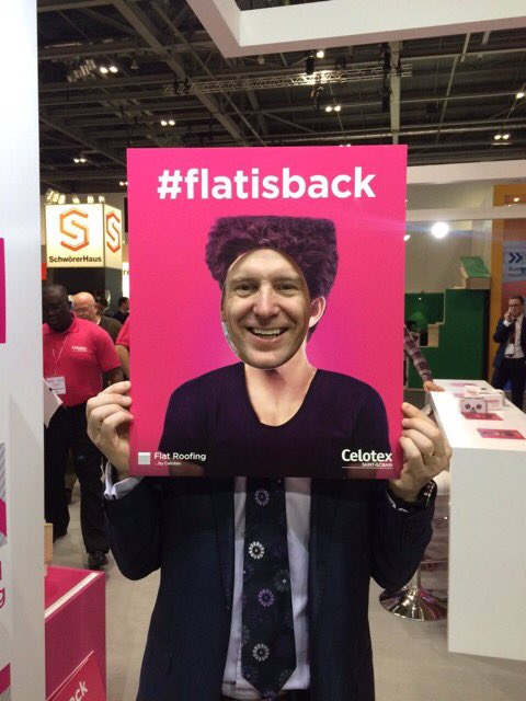 Check out the @flatisback Hall of Fame with some cool photos of visitors at @Ecobuild_Now https://t.co/F4L6UGwIam https://t.co/6pNPHjeDeR