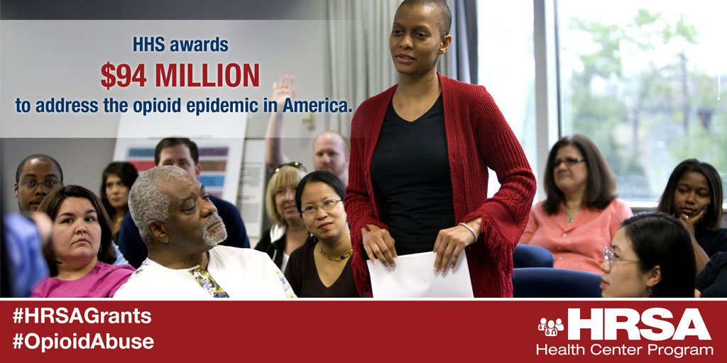 JUST IN: @HHSgov awards $94M in #HRSAGrants to address #OpioidAbuse in America→https://t.co/PHnTWcvnZl https://t.co/eb0bRJtJEk