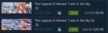 trails in the sky gog or steam