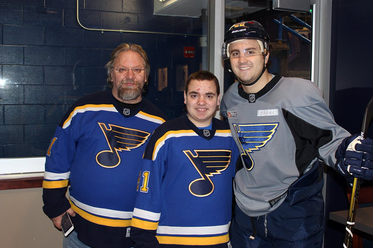 St louis blues on twitter a missed meet greet turned into an 1054 am 11 mar 2016 m4hsunfo