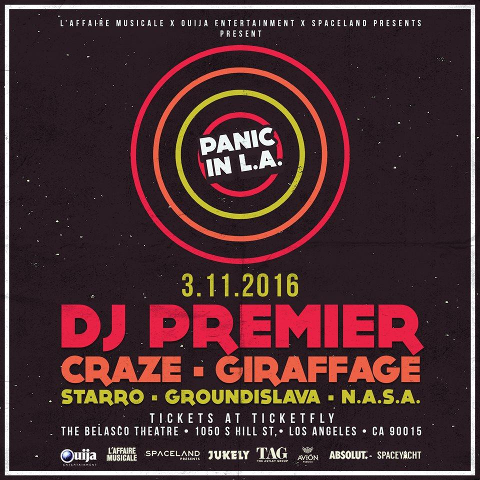TICKET GIVEAWAY! DJ Premier, Craze, Griaffage at @RegentTheaterLA tonight! RT TO ENTER! https://t.co/v5oGTemjVN https://t.co/cmvjua5n4q
