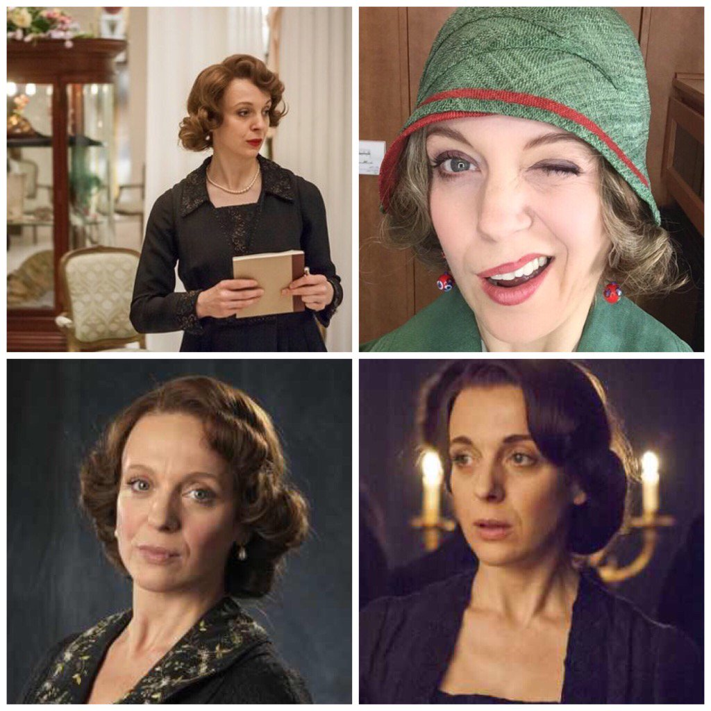 Thank you and good night. It's been fun. Miss Mardle, I've loved you very much. I'll miss ya. #MrSelfridge #itv