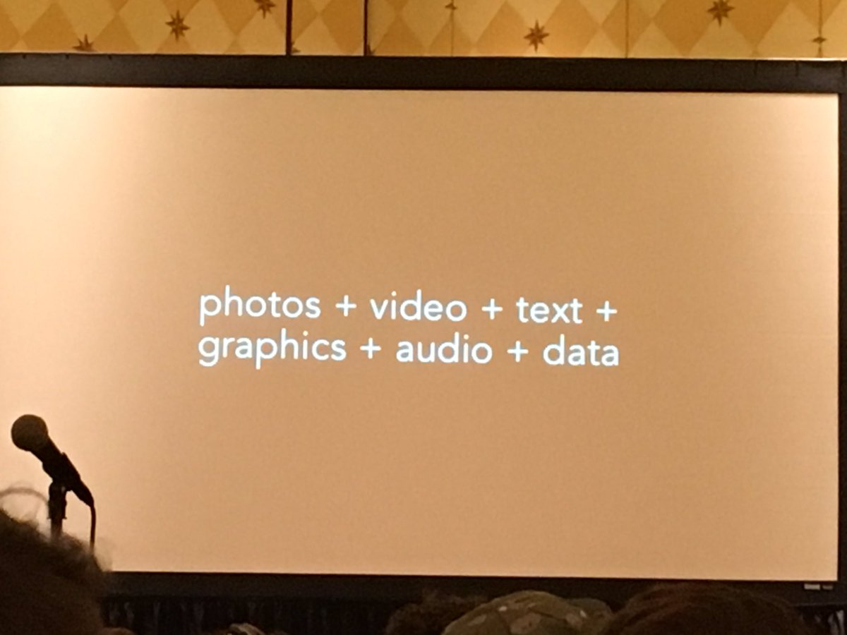 """Visual communication is a multimedia language"" #SXSW #viscom https://t.co/qPxUI4yuPI"