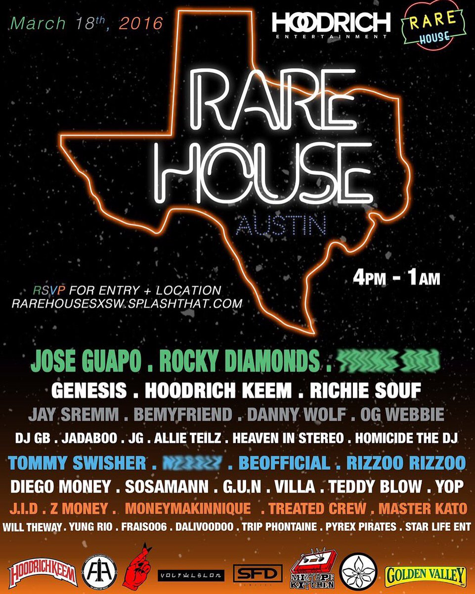 Looking forward to reconnecting with my bro @HoodrichKeem at SXSW ... Been too long
