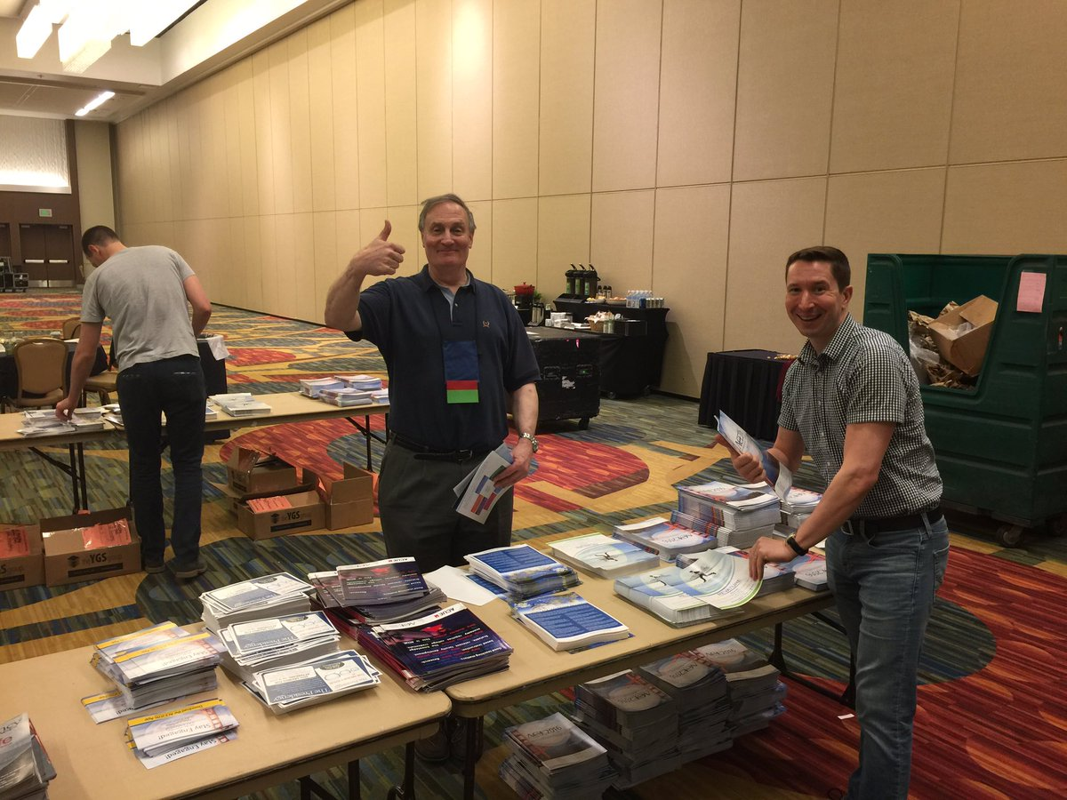 @ACEducation's Terry Hartle and Jason Pier lead the charge to prep registration bags for ACE2016! #ACEMeetSF https://t.co/cDg3wkUr21