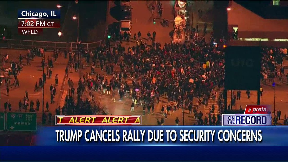 ".@greta: ""The @realDonaldTrump campaign said...rally will be postponed to another day."" #Greta https://t.co/tC6mU1GFiu"