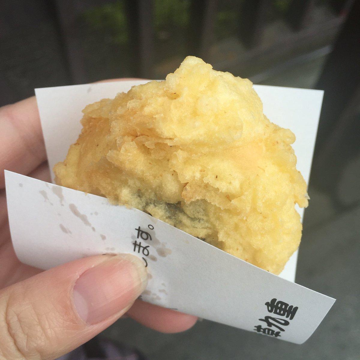あげまんじゅう、ぬれおかき串、浅草メンチ、ジャンボめろんぱん、人形焼を食べました( ˘ω˘ ) https://t.co/OalzP9fYXQ