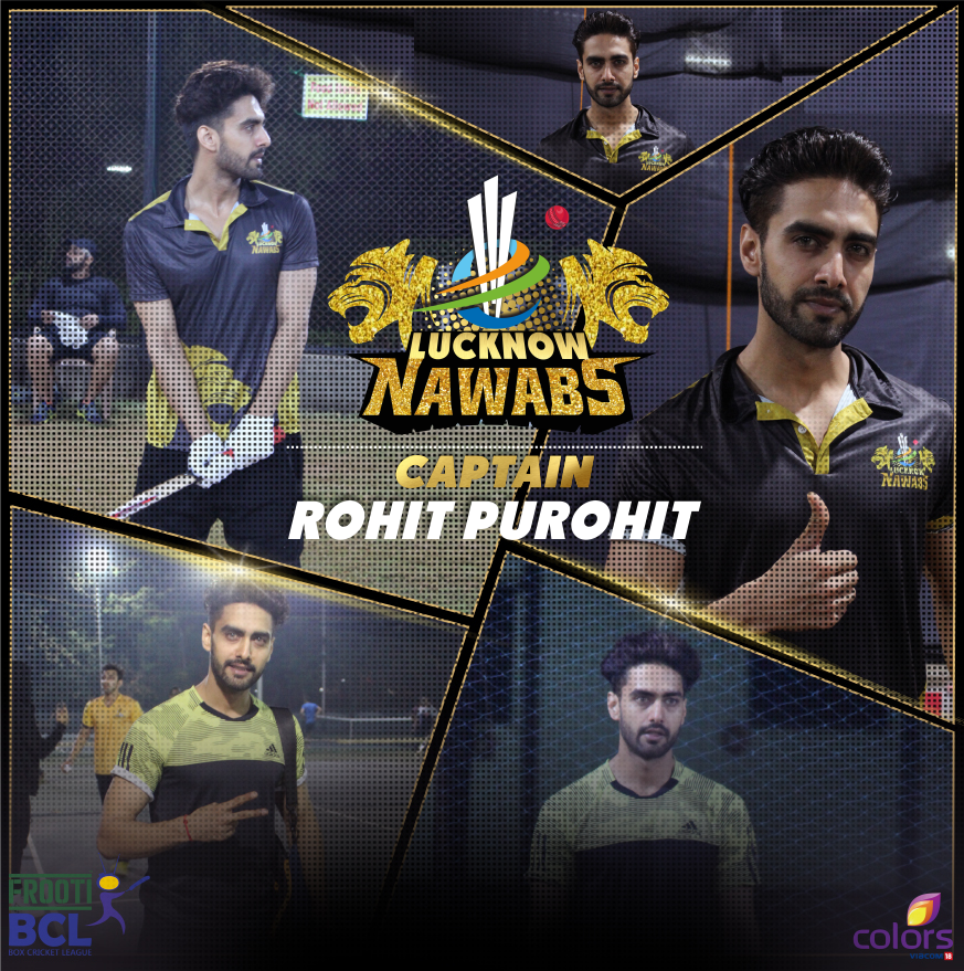 Lucknow Nawab, BCL Team, BCL 2, Box Cricket League 2016, image, picture, captain, Rohit Purohit