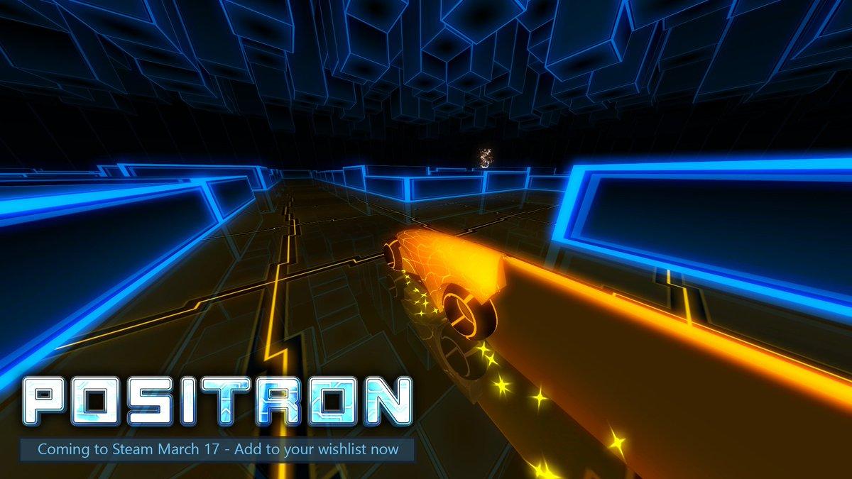 My game Positron hits Steam on Thursday! Add to your wishlist now :) https://t.co/nmFfpfEcCQ #screenshotsaturday https://t.co/8sKP9zaQRq