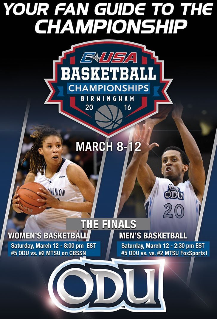 It's championship Saturday!! Good luck @ODUMBB and @ODUWBB!! https://t.co/ViG7wxfQFz
