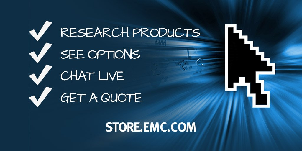 Emc Quote Extraordinary Dell EMC On Twitter The Alwayson EMC Store Is Your Onestop Shop