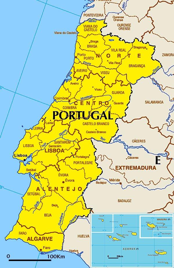 Portugali On Twitter Portugalin Kartta Portugali Kartta Ita8