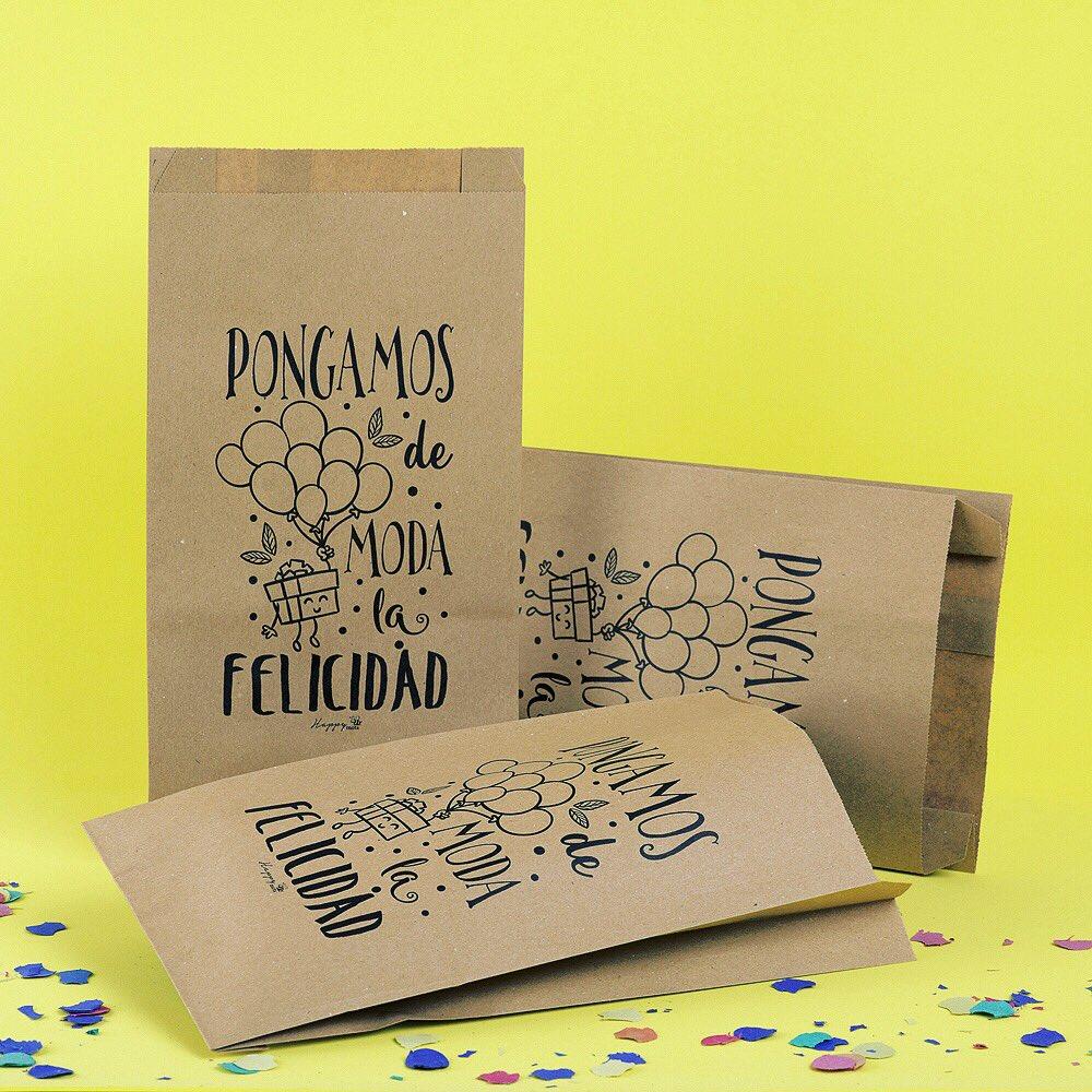 Happy Mots On Twitter Bolsas Papel Kraft 100 Reciclado Medidas 24