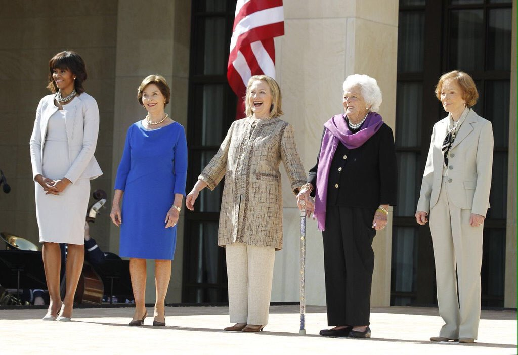 The Spice Girls have gathered to announce their reunion tour. https://t.co/SjwC5v2qUr