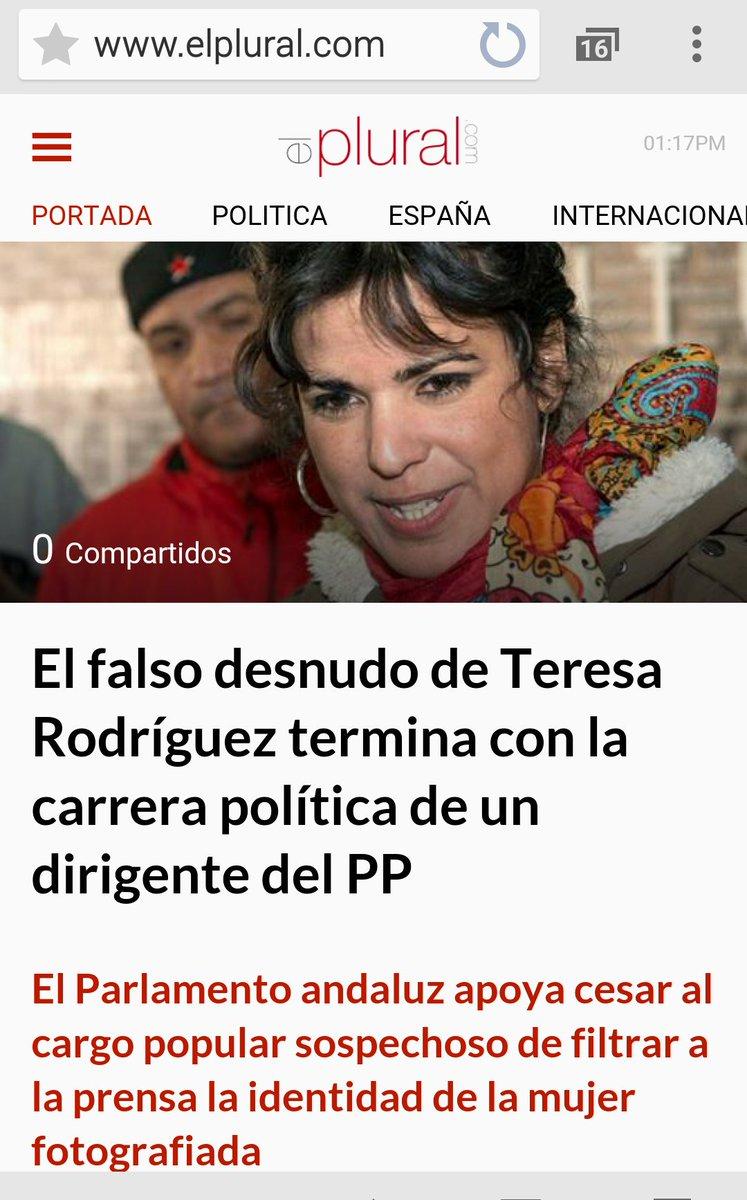 Teresa Rodríguez On Twitter La Justicia Tarda Pero A Veces Llega