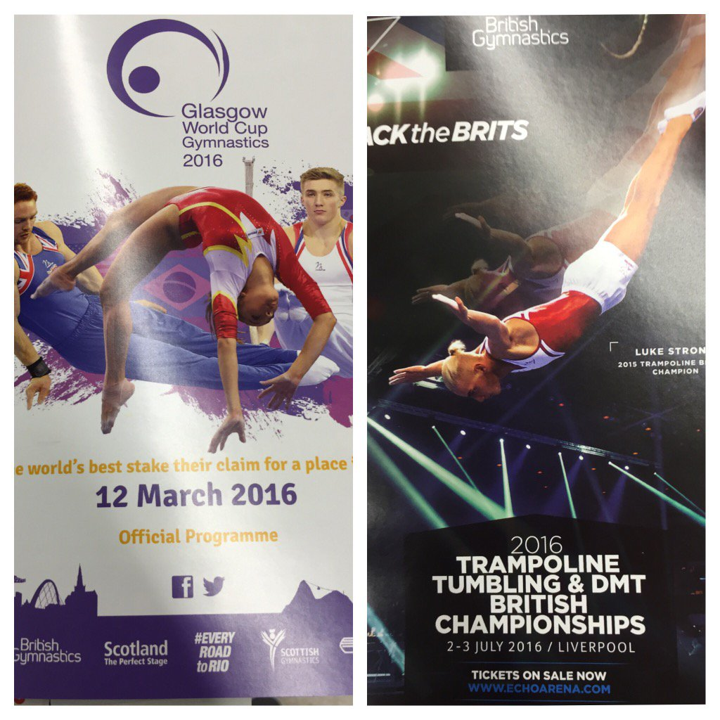 Trampoline Party Glasgow: World Cup Gymnastics (@GlasgowWCG)