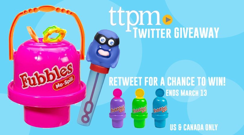 Warm weather is here! RETWEET for a chance to win bubble toys from @little_kids_inc! End March 13! US & CANADA ONLY! https://t.co/1yqYfKwvle