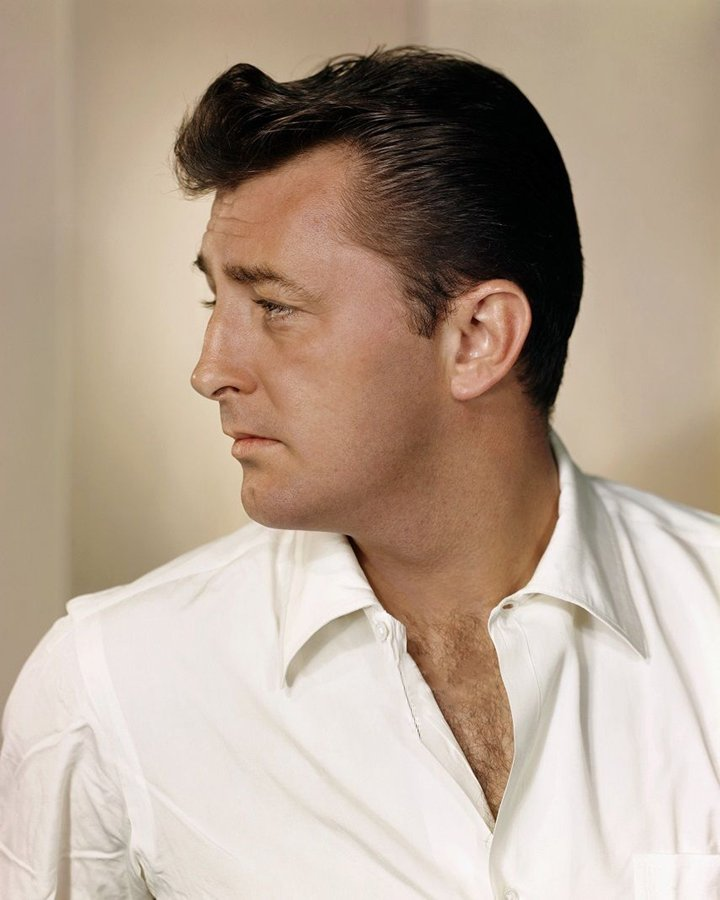 MOVIE PHOTOS On Twitter ROBERT MITCHUM Colour Profile Shot Of This Great Hollywood Star In His Heyday USA 1950s Film Movies