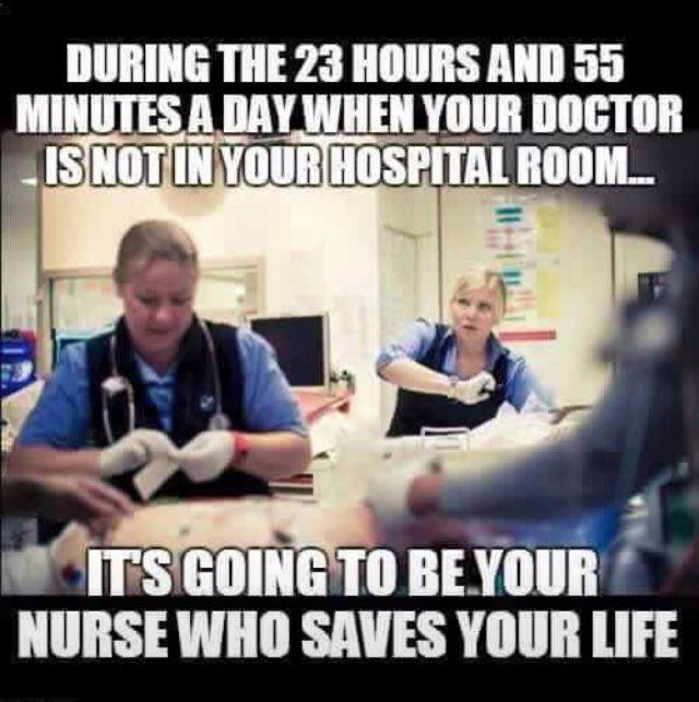 Hopefully your nurse doesn't have an unsafe amount of patients. #SafeStaffingRatios #NursesTakeDC #SMYSOfficial