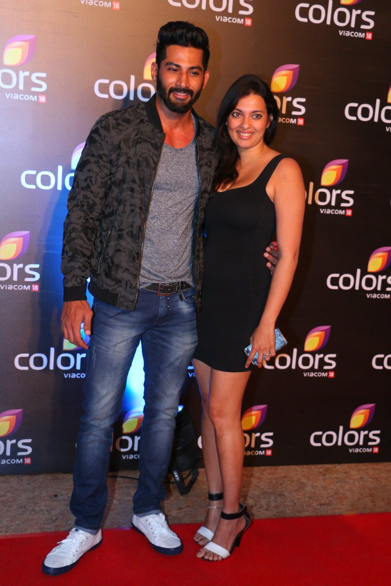 Vivan Bhatena at the Colors Party 2016 Image-Photo