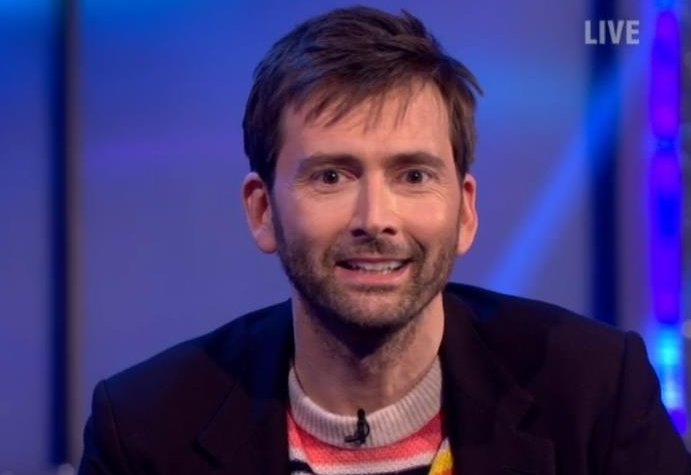 David Tennant on Saturday Night Takeaway