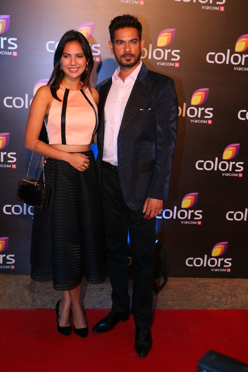 Rochelle Rao and Keith Sequeira at Colors Annual Party 2016 Image - Latest Pic