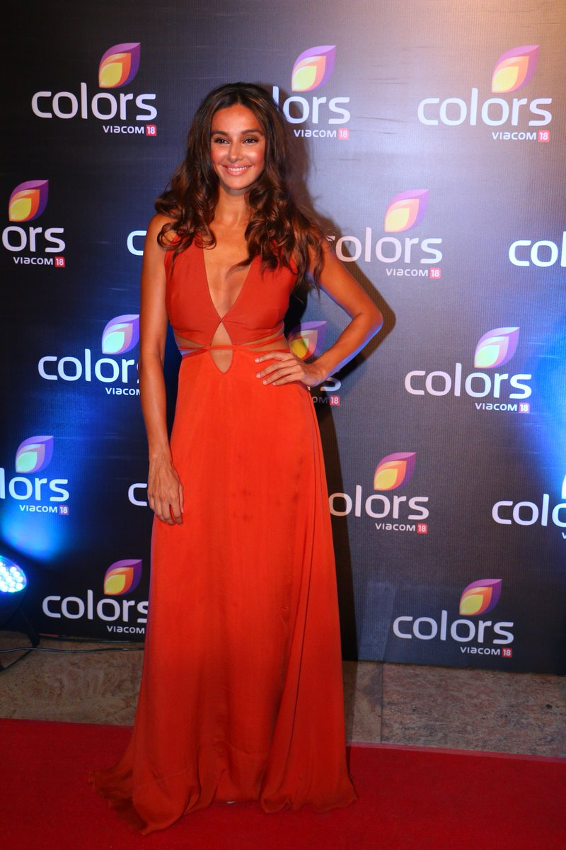 Shibani Dandekar at Colors Annual Party 2016 Image, latest photo