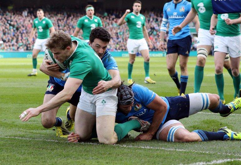 """Rugby Sei Nazioni: Irlanda-Italia 58-15, Italrugby vicina al """"cucchaio di legno"""""""