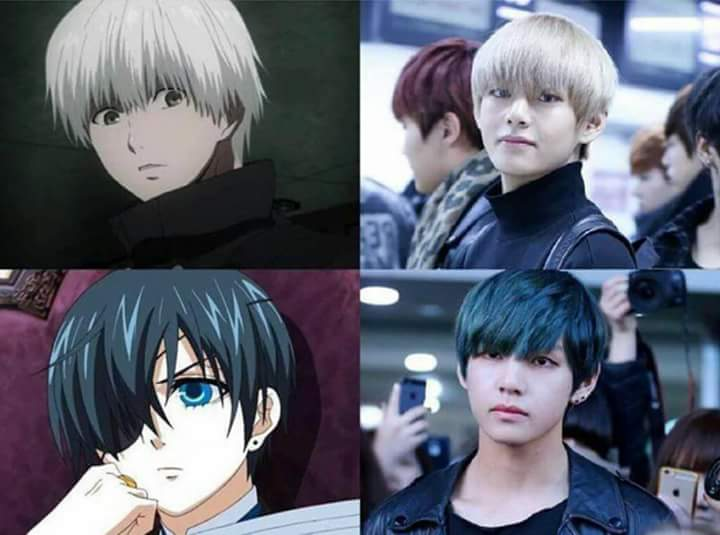 "V On Twitter: ""How To Be A Real Life Anime Character 👑 By"