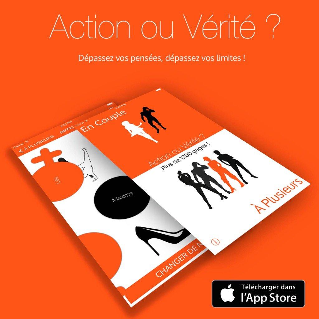 Wow Action ou Vérité pour couple et multijoueurs ! @Action__Verite htt...